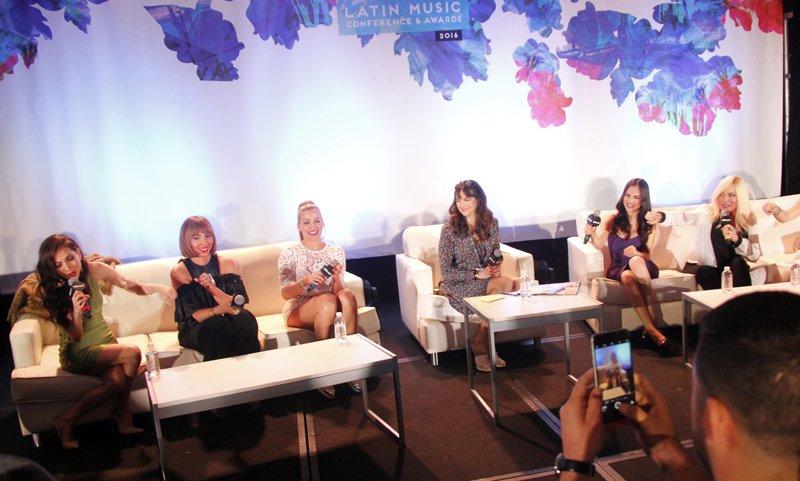 """""""The Divas Panel"""" reúne a interpretes femeninas de diversos géneros y épocas que siguen vigentes para hablar de la importancia que tienen en la industria musical. Fotos por Domingo Banda"""