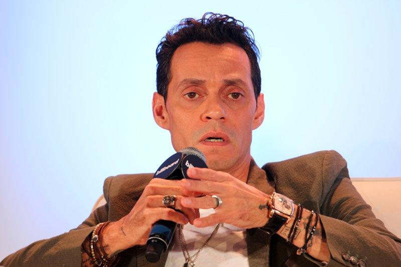 La estrella de la canción Marc Anthony fue moderador de la sesión donde se habló de la música que resiste al paso del tiempo. Fotos por Domingo Banda