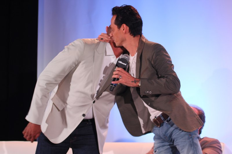 Sergio George y Marc Anthony son grandes amigos.