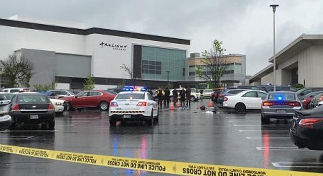 Escenario de uno de los tiroteos en un centro comercial del condado de Montgomery, MD