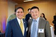 Samuel Acevedo, Director Ejecutivo de Boston HERC y Dr. Tommy Chang Superintendente de las escuelas públicas de Boston