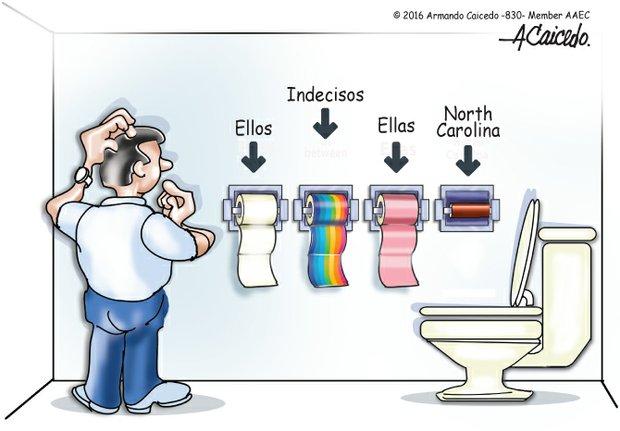 Democracia en el baño