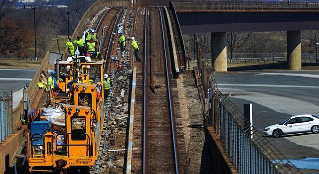El primero de 15 proyectos de reparación inicia el sábado 4 hasta el 16 de junio. Afecta a las líneas naranja y plateada entre el tramo de las estaciones de Ballston y East Falls Church.