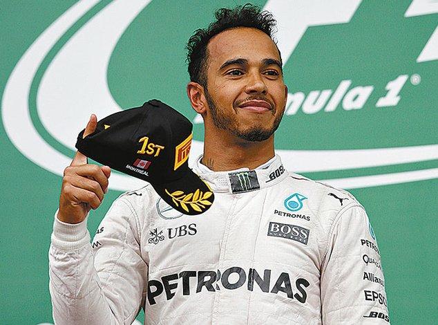 Hamilton se recupera