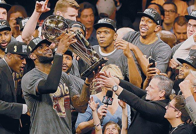 Cavaliers se consagraron en la NBA