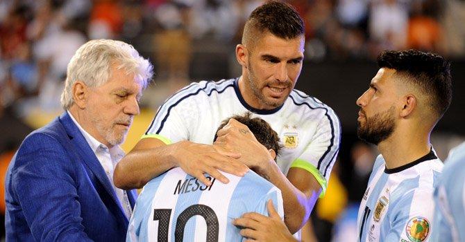 Lloran el adiós de Messi