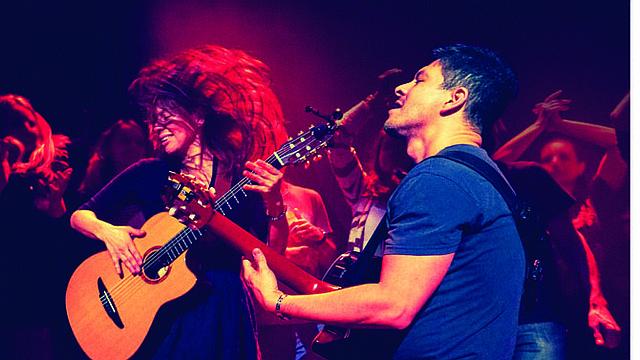 El dúo mexicano Rodrigo y Gabriela.