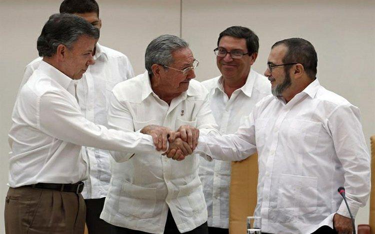 Paz En Colombia Peace In Colombia El Sol Latino