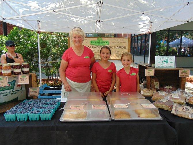 Kathy Chandle, Molly Hartnett y Emma Bailey se especializan en tartas saludables