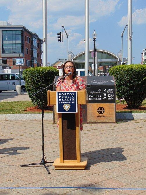 Monica Valdes Lupi directora ejecutiva de Boston Public Health Commission