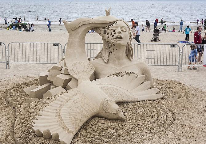 22-24 DE JULIO: Festival de esculturas de arena en Revere Beach