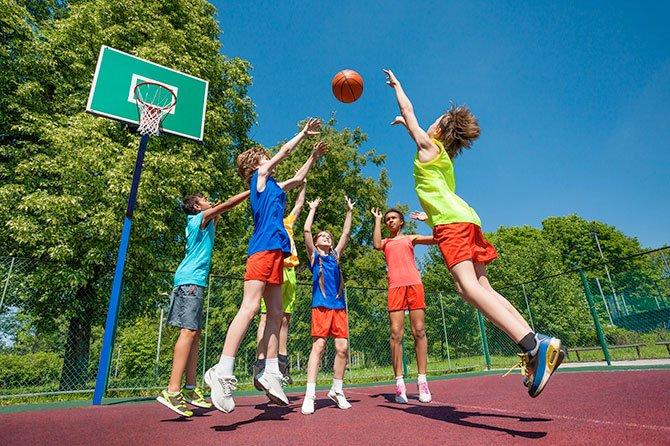 Baloncesto para chicos