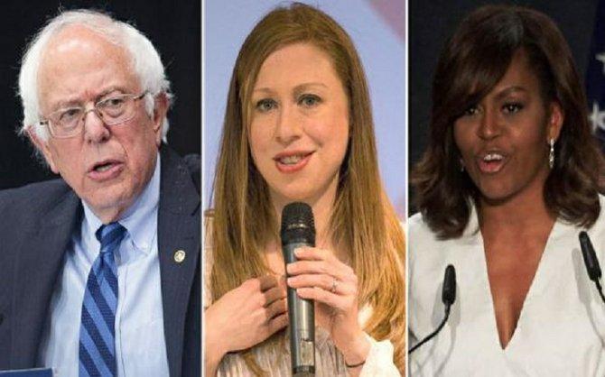 Vasta gama de oradores e invitados en la Convención Demócrata
