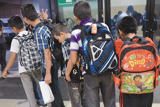 Continuarán las deportaciones de menores centroamericanos