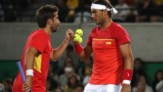 Rafael Nadal y Marc López logran el oro en dobles