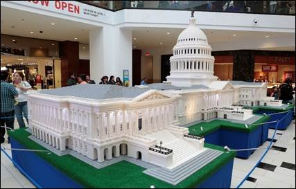 Exposici 243 N The Lego 174 Americana Roadshow En San Antonio
