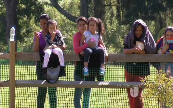 Madres de familias detenidas en Berks Pensilvania deportación continuan  huelga hambre