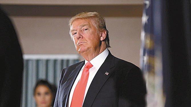 El candidato Donald Trump la tiene cuesta arriba