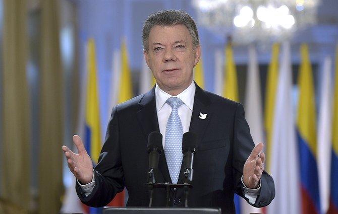 """Santos: Los """"irreversibles"""" acuerdos de paz deben ser mantenidos por el candidato que gane"""