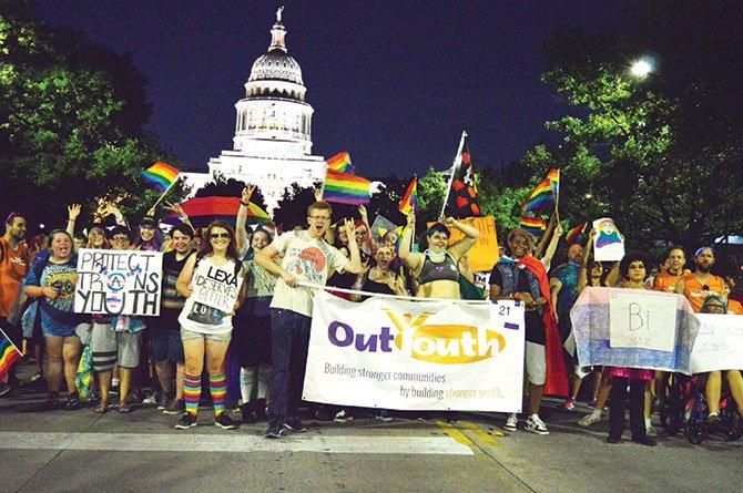 El orgulloso desfile de la diversidad