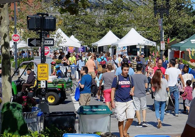 Festival de comida local regresa al Greenway de Boston en septiembre