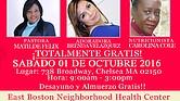 Feria de Salud Integral para mujeres, un evento GRATIS en Chelsea este sábado 1 de octubre.