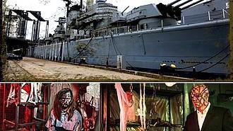 Ghost Ship Harbor promete escalofriantes sorpresas en Quincy, Massachusetts