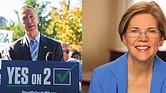 Congresista Stephen Lynch y Senadora Elizabeth Warren