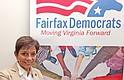 LÍDER. Dolores Quintela colabora con el Partido Demócrata en Fairfax, Virginia.