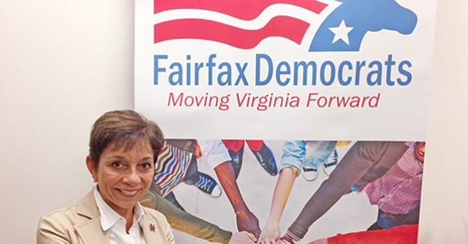 Esta dama está obsesionada por el voto de los latinos