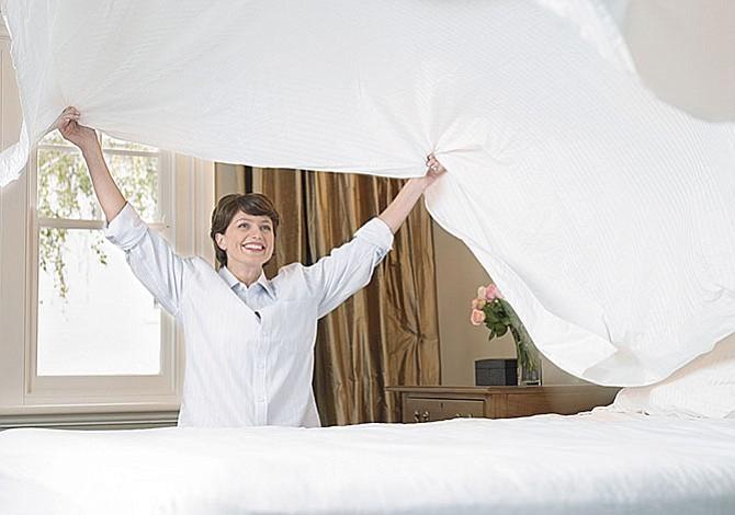 Cambia tus sábanas frecuentemente