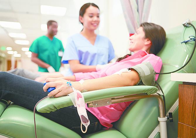 Cuando donas sangre, entregas vida