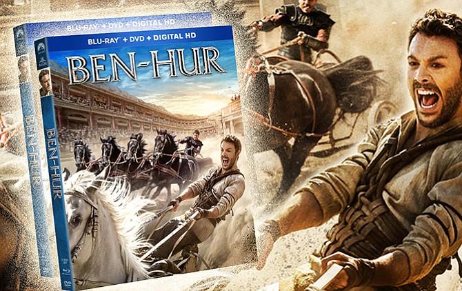 BEN-HUR ahora en DVD & Blu-Ray