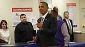El presidente Obama aprovechó la alternativa de votar por adelantado y ya sufragó semanas atrás