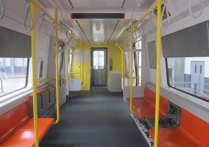 Así lucirán los nuevos trenes de la Línea Naranja