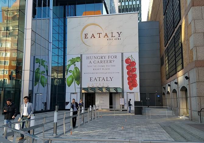 Eataly Boston abrirá sus puertas al público el 29 de noviembre