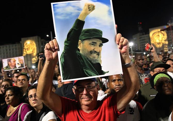 Los colores de Shangó y las fechas en la vida y la muerte de Fidel Castro