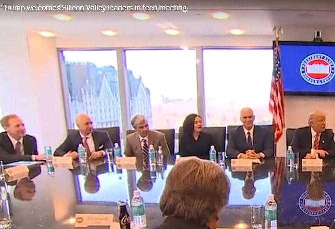 Los grandes de la tecnología hacen las pases con Trump