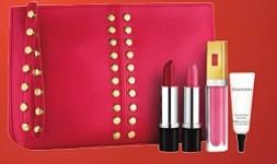 Estuche de labiales - Este fantástico set de Elizabeth Arden incluye dos labiales (uno rojo y uno rosa), dos brillos (uno transparente y otro rosa claro) y un estuche de regalo. Cualquier mujer coqueta, independientemente de su edad, estará feliz con este regalo, e incluso te puede servir para dos personas, si lo divides en dos. A la venta en Macy's $ 26.00