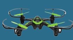 Dron - El incremento de la demanda de drones como vehículo recreativo ha explotado en los últimos años.Y el rango de aparatos disponibles -muchos de los cuales pueden perfectamente ser envueltos en papel de regalo y colocados bajo un árbol de Navidad- es tan variado como las edades de los interesados.  Estos aparatos son capaces de tomar unos videos fantásticos, que quedan almacenados en su propia tarjeta de memoria para que después los puedas descargar fácilmente en cualquier computador. Lo encuentras en Walmart. $55.99