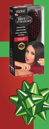 Cepillo eléctrico Esplee - Los cepillos eléctricos para el cabello son una verdadera innovación en el mundo del cuidado y la belleza capilar, pues dejan un aspecto menos rígido y más estilizado en comparación con la plancha eléctrica tradicional. Funcionan especialmente bien para quienes tienen la hebra del cabello delgada, que son más sensibles al calor de la plancha. A la venta en Walmart $19.99