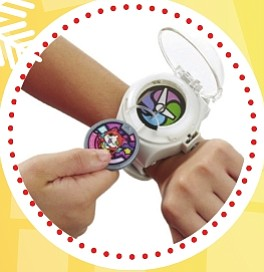 Yo-Kai – Reloj con sonidos ($30)   Otro de los juguetes más demandados de la temporada es el Yo-Kai Watch (Reloj de Yo-kai), de otra exitosa serie televisiva. Aquí te sumerges en el mundo Yo-Kai y tu niño llevará un reloj que hace cosas extraordinarias. Puedes coleccionar hasta 100 medallas que introduces al reloj y hace diferentes sonidos de la tribu. Puedes invocar a los diferentes personajes Yo-Kai para que digan su nombre y también aparecen frases y música. Recomendado para niños a partir de 4 años.