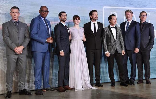 """""""Rogue One"""" domina los cines con uno de los mejores estrenos de 2016"""