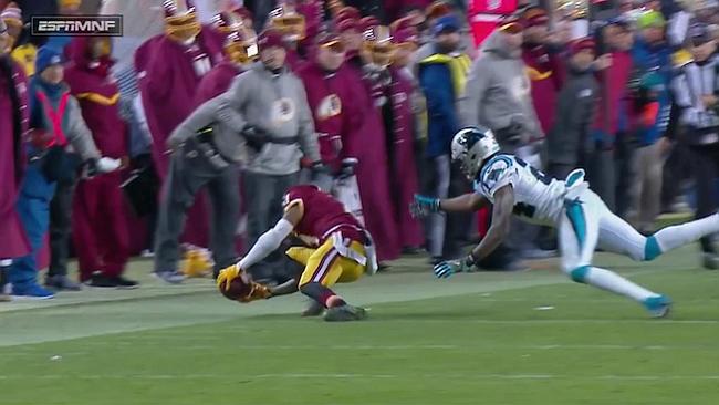 15-23. La defensa de Panthers pone en peligro el pase de Redskins a playoffs