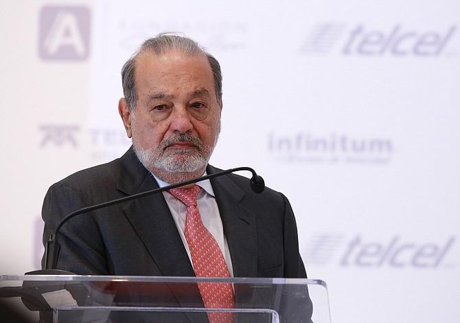 Trump cena con Slim mientras relaciones con líderes mexicanos mejoran