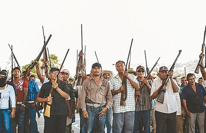 Vecinos crean grupos  de autodefensa