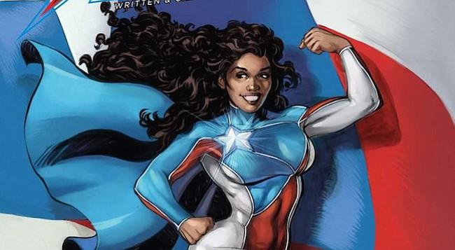 Nueva superheroína La Borinqueña demuestra el poder del orgullo puertorriqueño