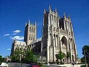 MONUMENTAL. La Catedral Nacional en la Wisconsin Avenue es un lugar histórico en Washington, DC