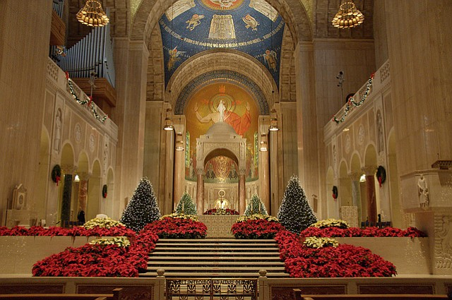 Misas de Navidad en el área