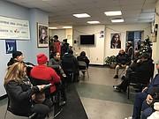 ASISTENTES. Participantes en los simulácros de entrevistas de cuidadanía en CARECEN